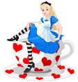 Cute Alice vector image vector image