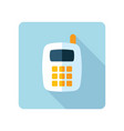 mobile phone icon smart phone vector image vector image
