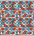 paper scales seamless squama blue and red vector image