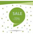 sale banner template design big sale special vector image vector image