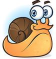 snail smiling cartoon character
