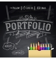 Web design template Eps10 vector image