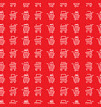 store trolley seamless pattern vector image