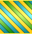 Abstract colorful stripes background vector image vector image
