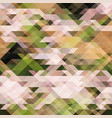 abstract pixel background from triangles vector image vector image