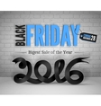 Black Friday banner vector image vector image