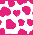 heart seamless pattern background business flat vector image vector image
