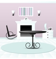 Living room decor vector image