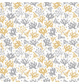 seamless floral pattern cute spring background vector image vector image
