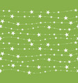 seamless pattern with stars and dots holiday vector image vector image
