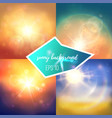 st of summer backgrounds vector image vector image