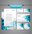 Business Stationery Templates vector image