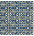 Chinese style seamless pattern vector image