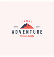 Adventure logo badge icon