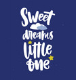 poster template for children s room with sweet vector image
