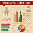 retro infographics elements set 2 information vector image