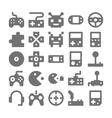 Video Game Icons 2 vector image vector image