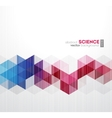 Abstract geometric background with vector image vector image