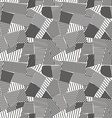 abstract lines seamless pattern vector image vector image