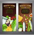 calcium in food banners vector image