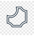 pattern concept linear icon isolated on vector image