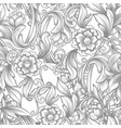 vintage baroque seamless pattern vector image