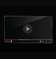 Glass video player template