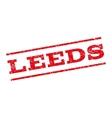 Leeds Watermark Stamp vector image vector image