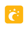moon and star lullaby good night flat color vector image vector image