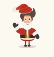 Santa Claus Funny cartoon vector image