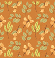 seamless floral pattern flowers texture seamless vector image