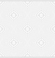 seamless illusion geometric pattern white and vector image vector image