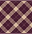 seamless pattern of scottish tartan plaid vector image