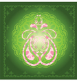 Decor Green vector image