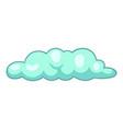 Freezing cloud icon cartoon style