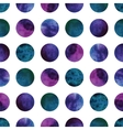 geometric abstract watercolor pattern with vector image vector image