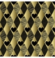 Gold pattern with rhombs and hearts
