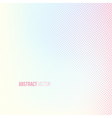 Halftone background Light banner vector image