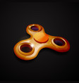 hand spinner fidget toy for increased focus vector image