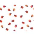 ladybirds pattern vector image vector image
