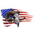 ram goat logo icon design vector image vector image
