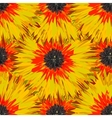 seamless bright colors tropical floral pattern vector image vector image