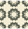 Seamless Ornamental Print endless lace in indian vector image vector image