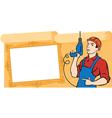 banner builder vector image