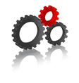 business gears vector image vector image