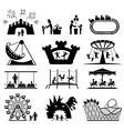 Childhood set Pictogram icon set
