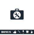 Toolbox icon flat vector image vector image