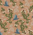 vintage background pattern vector image