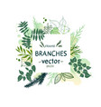 nature forest vector image
