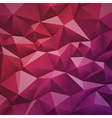 Geometric abstract low-poly paper background vector image vector image